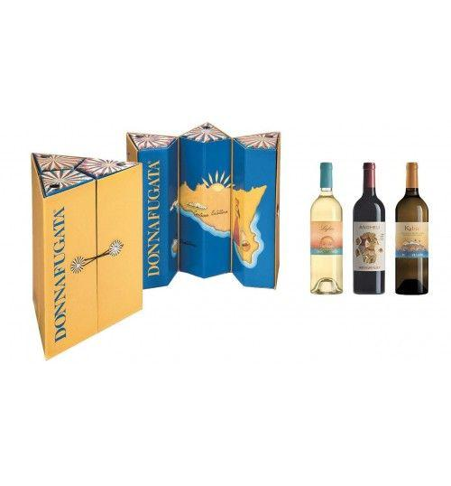 Kaleidos Box Pack 3 bottles (Lighea + Angheli + Kabir) - Donnafugata