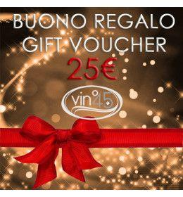 Gift Certificate of 25€