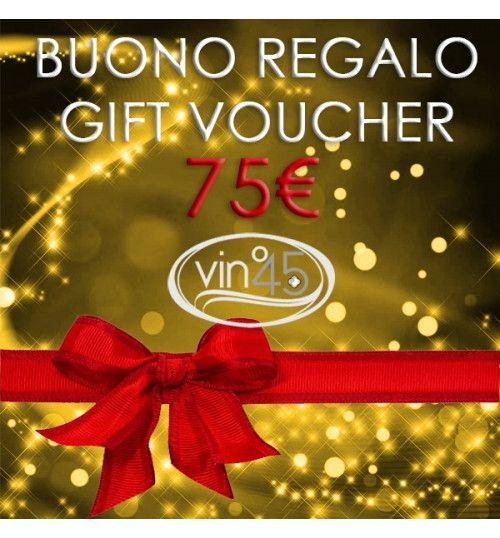 Gift Certificate of 75€