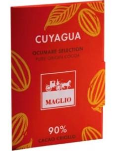Tavoletta Cioccolato 'Cuyagua' 90% Cacao Criollo (80 gr.) - Maglio