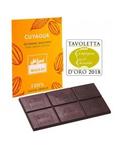 'Cuyagua' Chocolate Tablet 100% Criollo Cocoa (80 gr.) - Maglio