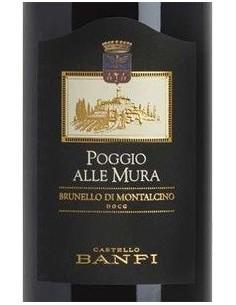 Red Wines - Brunello di Montalcino DOCG 'Poggio alle Mura' 2012 (750 ml.) - Castello Banfi - Castello Banfi - 2