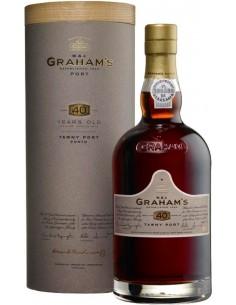 Porto - Porto '40 Years Old' Tawny (750 ml. cofanetto) - W. & J. Graham's - Graham's - 1