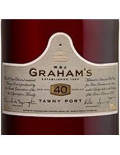 Porto - Porto '40 Years Old' Tawny (750 ml. cofanetto) - W. & J. Graham's - Graham's - 3