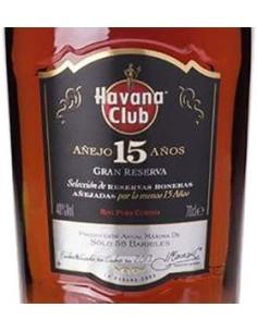 Rum - Rum Anejo 15 Years Old 'Gran Reserva' (700 ml. astuccio) - Havana Club - Havana Club - 3