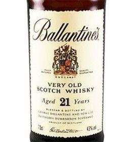 Blended Scotch Whisky 21 Years Old (700 ml.) - Ballantine's