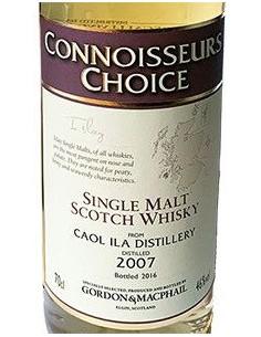 Whisky Single Malt - Single Malt Scotch Whisky 'Caol Ila' Distillery 2007 (700 ml.) - Gordon & Macphail - Gordon & Macphail - 3