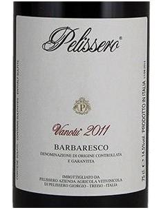 Red Wines - Barbaresco DOCG 'Vanotu' 2011 (750 ml.) - Pelissero - Pelissero - 2