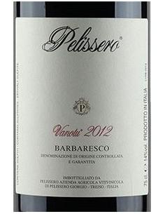 Barbaresco DOCG 'Vanotu' 2012 - Pelissero