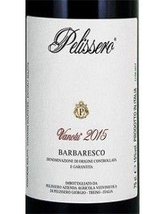 Vini Rossi - Barbaresco DOCG 'Vanotu' 2015 (750 ml.) - Pelissero - Pelissero - 2