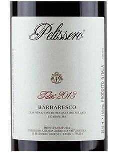 Vini Rossi - Barbaresco DOCG 'Tulin' 2013 (750 ml.) - Pelissero - Pelissero - 2