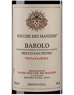Red Wines - Barolo DOCG Bricco San Pietro 'Vigna d'la Roul' 2013 (750 ml.) - Rocche dei Manzoni - Rocche dei Manzoni - 2
