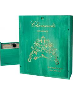 Vini Bianchi - Chiaranda' Le Grandi Annate 2005 - 2007 - 2012 Cassetta in Legno da 3 bottiglie (3x750 ml.)  - Donnafugata - Donn