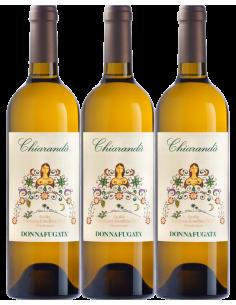 White Wines - Chiaranda' The Great Vintages 2005 - 2007 - 2012 Wooden box with 3 bottles (3x750 ml.) - Donnafugata - Donnafugata
