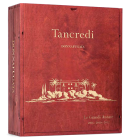 Red Wines - Tancredi The Great Vintages 2003 - 2008 - 2011 Wooden box with 3 bottles (3x750 ml.) - Donnafugata - Donnafugata - 2