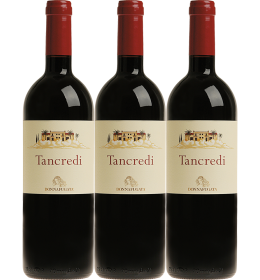 Red Wines - Tancredi The Great Vintages 2003 - 2008 - 2011 Wooden box with 3 bottles (3x750 ml.) - Donnafugata - Donnafugata - 3