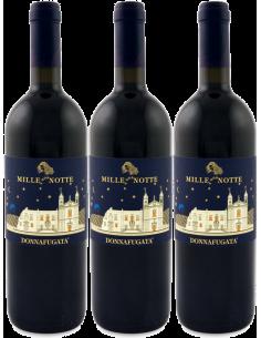 Red Wines - Mille e Una Notte The Great Vintages 2009 - 2011 - 2013 Wooden box of 3 bottles (3x750 ml.) - Donnafugata - Donnafug