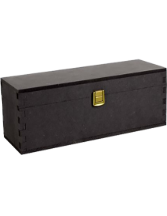 Cassette in Legno - Cassetta Regalo in Legno Antracite Porta Vino per 1 Bottiglia da 750 ml. - Vino45 - 1