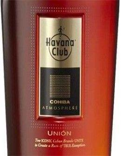 Rum - Rum Cohiba Atmosphere 'Union' (700 ml. deluxe gift box) - Havana Club - Havana Club - 4