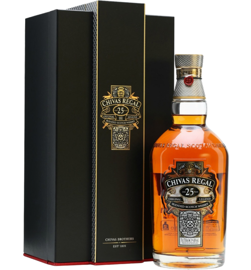 Whisky Blended - Blended Scotch Whisky 'Original Legend' 25 years old (700 ml. deluxe gif box) - Chivas Regal - Chivas Regal - 1