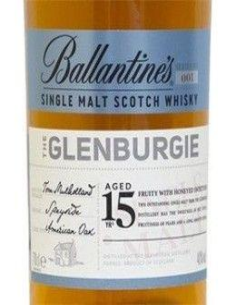 Whisky Single Malt - Single Malt Scotch Whisky 'Glenburgie' 15 Years Old  (700 ml.) - Ballantine's - Ballantine's - 3