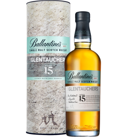 Single Malt Scotch Whisky 'Glentauchers' 15 Years Old  (700 ml.) - Ballantine's