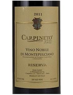 Vini Rossi - Nobile di Montepulciano DOCG Riserva 2011 (750 ml.) - Carpineto - Carpineto - 2