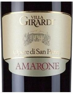 Vini Rossi - Amarone della Valpolicella Classico DOCG 'Opere di San Pietro' 2011 (750 ml.) - Tenuta Villa Girardi - Tenuta Villa
