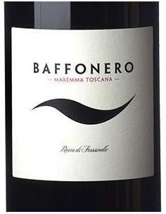 Vini Rossi - Maremma Toscana Merlot IGT  'Baffo Nero' 2015 (750 ml. cassetta in legno) - Rocca di Frassinello - Rocca di Frassin
