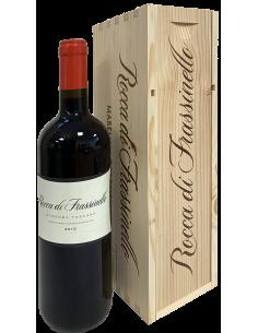 Vini Rossi - Maremma Toscana Rosso IGT 'Rocca di Frassinello' 2015 (750ml. cassetta in legno) - Rocca di Frassinello - Rocca di