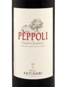 Red Wines - Chianti Classico DOCG 'Peppoli' 2018 (750 ml.) - Antinori - Antinori - 2