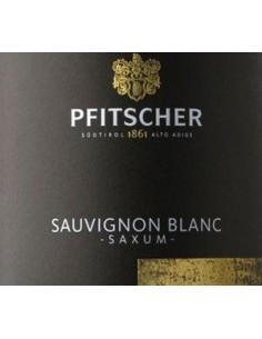 White Wines - Alto Adige Sauvignon Blanc DOC 'Saxum' 2019 (750 ml.) - Pfitscher - Pfitscher - 2