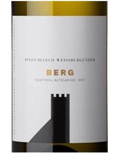 White Wines - Alto Adige Pinot Bianco DOC 'Berg' 2018 - Colterenzio - Colterenzio - 2