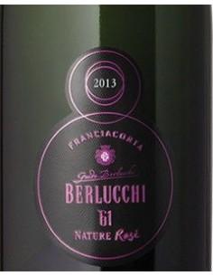 Sparkling Wines - Franciacorta DOCG '61 Nature Rose' 2013 (750 ml. boxed) - Berlucchi - Berlucchi - 3