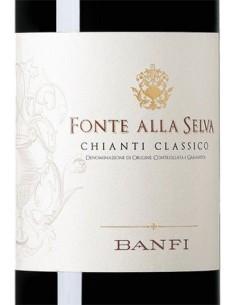 Vini Rossi - Chianti Classico DOCG 'Fonte alla Selva' 2018 (750 ml.) - Banfi - Castello Banfi - 2