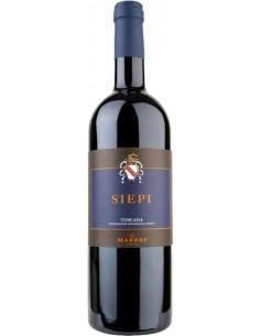 Vini Rossi - Toscana Rosso IGT 'Siepi' 2017 (750 ml. astuccio) - Mazzei - Mazzei - 2