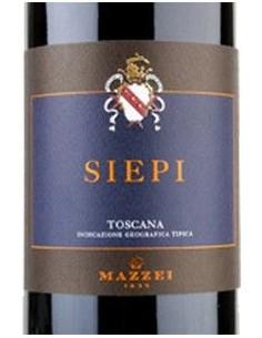 Vini Rossi - Toscana Rosso IGT 'Siepi' 2017 (750 ml. astuccio) - Mazzei - Mazzei - 3