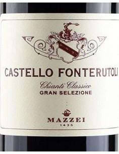 Vini Rossi - Chianti Classico Gran Selezione DOCG 'Castello Fonterutoli' 2017 (750 ml. astuccio) - Mazzei - Mazzei - 3