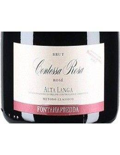 Vini Spumanti - Alta Langa Brut DOCG Contessa Rosa Rose' 2014 (750 ml. astuccio) - Fontanafredda - Fontanafredda - 3