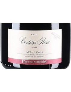 Sparkling Wines - Alta Langa Brut DOCG Contessa Rosa Rose' 2014 (750 ml. boxed) - Fontanafredda - Fontanafredda - 3