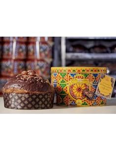 Panettone Gourmet - Dolce & Gabbana Glazed Chestnuts and Gianduia Panettone (1 Kg.) - Fiasconaro - Fiasconaro - 3