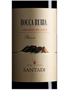 Vini Rossi - Carignano del Sulcis Riserva DOC 'Rocca Rubia' 2017 (750 ml.) - Cantina Santadi - Santadi - 2