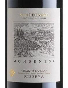 Red Wines - Chianti Classico Riserva DOCG 'Monsenese' 2016 (750 ml.) - San Leonino - San Leonino - 2