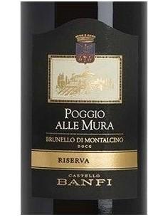 Red Wines - Brunello di Montalcino DOCG Riserva 'Poggio alle Mura' 2013 (750 ml.) - Castello Banfi - Castello Banfi - 2