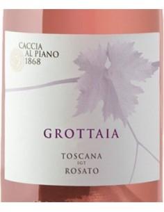 Rose Wines - Toscana Rosato IGT 'Grottaia' 2019 (750 ml.) - Caccia al Piano - Caccia al Piano - 2