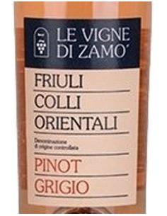 White Wines - Colli Orientali del Friuli 'Pinot Grigio Ramato' DOC 2019 (750 ml.) - Le Vigne di Zamo' - Le Vigne di Zamo' - 2