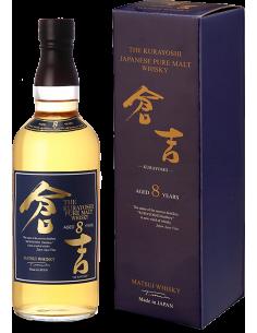 Whisky Pure Malt - Pure Malt Whisky The Kurayoshi '8 Years Old' (700 ml. astuccio) - Matsui Whisky - Matsui Whisky - 1