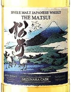 Whisky Single Malt - Single Malt The Matsui 'Mizunara Cask' (700 ml. astuccio) - Matsui Whisky - Matsui Whisky - 3
