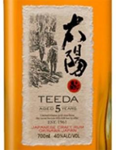 Rum - Japanese Rum 'Teeda' 5 Years Old (700 ml. astuccio) - Helios - Helios - 3