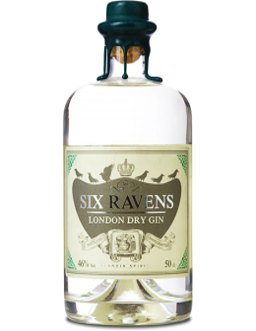 Gin - Gin 'Six Ravens' (500 ml) - Six Ravens - Six Ravens - 1